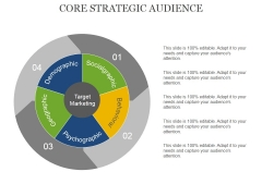Core Strategic Audience Template 1 Ppt PowerPoint Presentation Professional Layout Ideas