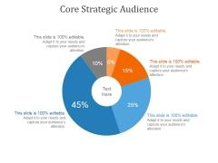 Core Strategic Audience Template 2 Ppt PowerPoint Presentation Slides
