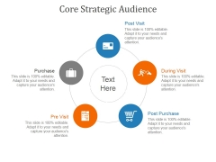 Core Strategic Audience Template 3 Ppt PowerPoint Presentation Summary