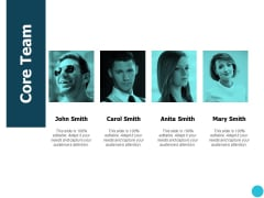 Core Team Communication Ppt PowerPoint Presentation Summary Icons