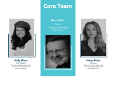 Core Team Introduction Communication Ppt PowerPoint Presentation Pictures Maker
