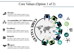 Core Values Template 1 Ppt PowerPoint Presentation Outline Themes