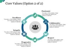 Core Values Template 1 Ppt PowerPoint Presentation Professional Samples