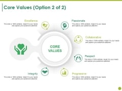 Core Values Template 2 Ppt PowerPoint Presentation File Example