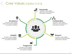 Core Values Template 2 Ppt PowerPoint Presentation Summary Graphic Tips