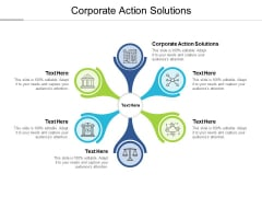 Corporate Action Solutions Ppt PowerPoint Presentation Slides Graphics Pictures Cpb