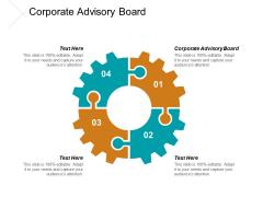 Corporate Advisory Board Ppt PowerPoint Presentation Model Format Cpb