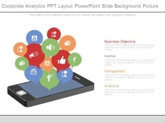 Corporate Analytics Ppt Layout Powerpoint Slide Background Picture