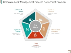 Corporate Audit Management Process Ppt PowerPoint Presentation Summary
