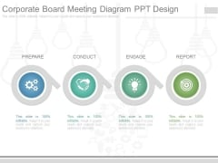 Corporate Board Meeting Diagram Ppt Design