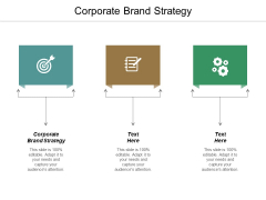 Corporate Brand Strategy Ppt PowerPoint Presentation Summary Elements