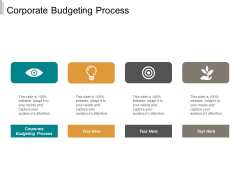 Corporate Budgeting Process Ppt PowerPoint Presentation Outline Layouts Cpb