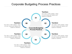 Corporate Budgeting Process Practices Ppt PowerPoint Presentation Infographic Template Demonstration Cpb