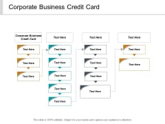 Corporate Business Credit Card Ppt PowerPoint Presentation Pictures Professional Cpb