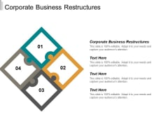 Corporate Business Restructures Ppt PowerPoint Presentation Portfolio Show Cpb
