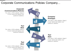 Corporate Communications Policies Company Prototype Ppt PowerPoint Presentation Summary Aids