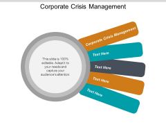 Corporate Crisis Management Ppt PowerPoint Presentation Gallery Show Cpb