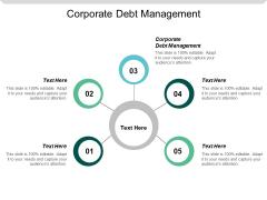 Corporate Debt Management Ppt PowerPoint Presentation Professional Cpb