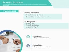 Corporate Debt Refinancing And Restructuring Executive Summary Portrait PDF