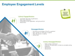 Corporate Employee Engagement Employee Engagement Levels Ppt Icon Samples PDF