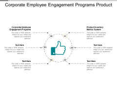 Corporate Employee Engagement Programs Product Inventory Metrics System Ppt PowerPoint Presentation Infographics