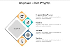 Corporate Ethics Program Ppt PowerPoint Presentation File Layout Cpb