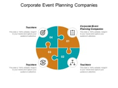 Corporate Event Planning Companies Ppt PowerPoint Presentation File Outline Cpb