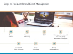 Corporate Event Planning Management Ways To Promote Brand Event Management Download PDF