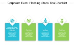 Corporate Event Planning Steps Tips Checklist Ppt PowerPoint Presentation Show Objects Cpb Pdf