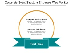 Corporate Event Structure Employee Web Monitor Management Inventory Ppt PowerPoint Presentation Pictures Summary