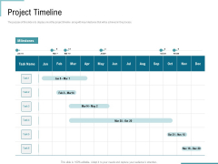 Corporate Execution And Financial Liability Report Project Timeline Pictures PDF