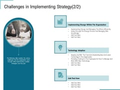 Corporate Execution Financial Liability Report Challenges In Implementing Strategy Risk Rules PDF