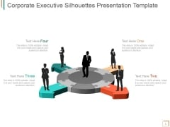 Corporate Executive Silhouettes Ppt PowerPoint Presentation Tips