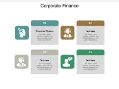 Corporate Finance Ppt PowerPoint Presentation Show Designs Download Cpb