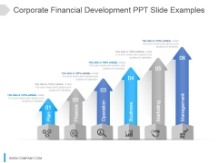 Corporate Financial Development Ppt Slide Examples