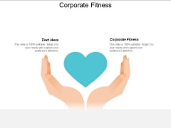 Corporate Fitness Ppt PowerPoint Presentation Ideas Background Images Cpb