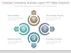 Corporate Forecasting Business Layout Ppt Slides Download