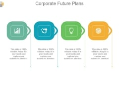 Corporate Future Plans Powerpoint Presentation Templates