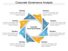 Corporate Governance Analysis Ppt PowerPoint Presentation Inspiration Deck Cpb