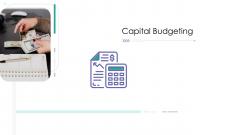 Corporate Governance Capital Budgeting Topics PDF