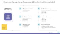 Corporate Governance Obtain And Manage Human Resources And Diversity In Small Companies Growth Ideas PDF