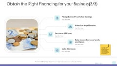 Corporate Governance Obtain The Right Financing For Your Business Investor Sample PDF