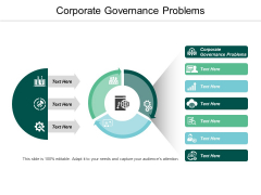 Corporate Governance Problems Ppt Powerpoint Presentation Ideas Graphics Template Cpb