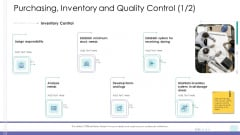 Corporate Governance Purchasing Inventory And Quality Control Icon Professional PDF