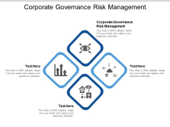 Corporate Governance Risk Management Ppt PowerPoint Presentation Model Layout Cpb