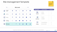 Corporate Governance Risk Management Template Icons PDF