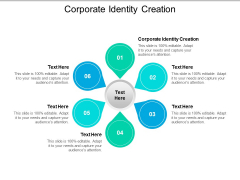 Corporate Identity Creation Ppt PowerPoint Presentation Show Inspiration Cpb