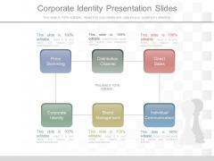 Corporate Identity Presentation Slides