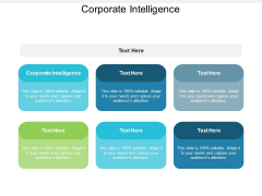 Corporate Intelligence Ppt PowerPoint Presentation Show Infographic Template Cpb
