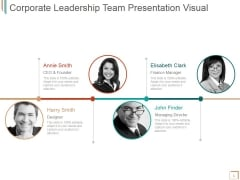 Corporate Leadership Team Ppt PowerPoint Presentation Inspiration